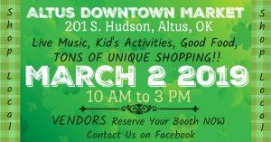 Altus Downtown Market @ Downtown Altus